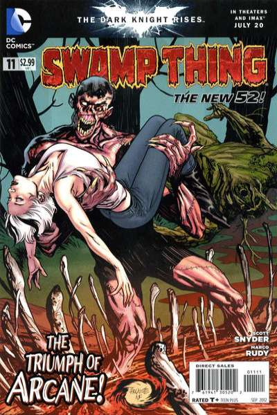Swamp Thing #11 comic books - cover scans photos Swamp Thing #11 comic books - covers, picture gallery