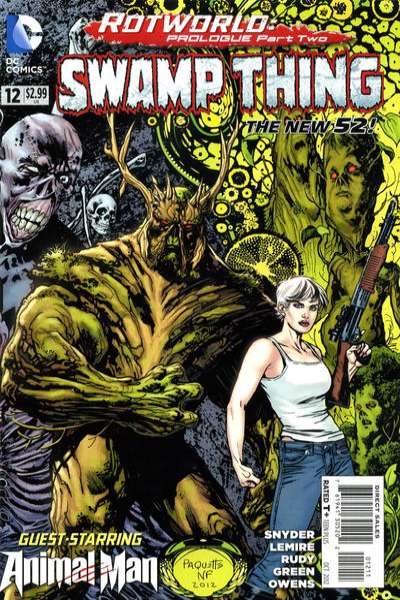 Swamp Thing #12 comic books - cover scans photos Swamp Thing #12 comic books - covers, picture gallery