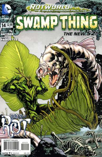 Swamp Thing #14 comic books - cover scans photos Swamp Thing #14 comic books - covers, picture gallery