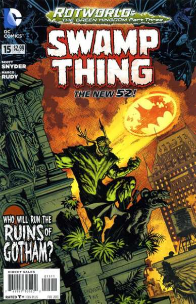 Swamp Thing #15 comic books for sale