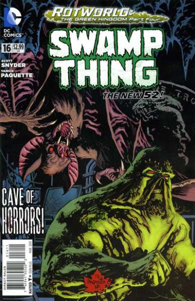 Swamp Thing #16 comic books - cover scans photos Swamp Thing #16 comic books - covers, picture gallery