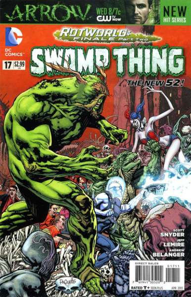 Swamp Thing #17 Comic Books - Covers, Scans, Photos  in Swamp Thing Comic Books - Covers, Scans, Gallery