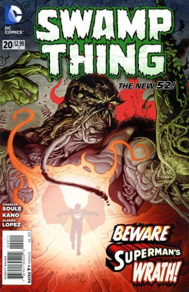 Swamp Thing #20 comic books - cover scans photos Swamp Thing #20 comic books - covers, picture gallery