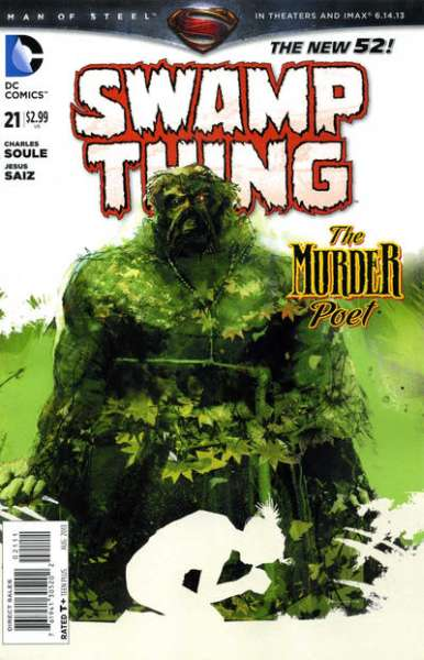 Swamp Thing #21 comic books - cover scans photos Swamp Thing #21 comic books - covers, picture gallery