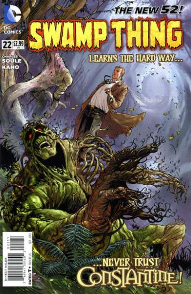 Swamp Thing #22 comic books - cover scans photos Swamp Thing #22 comic books - covers, picture gallery