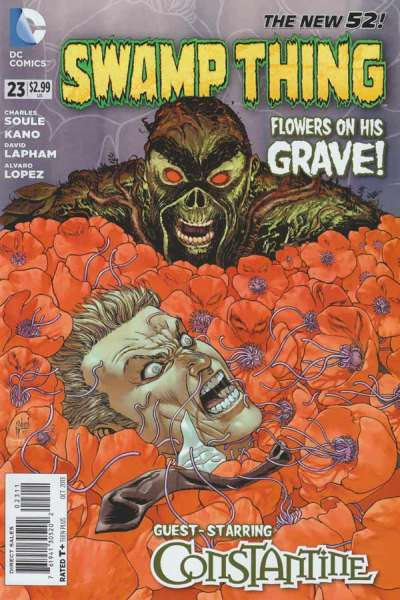 Swamp Thing #23 comic books - cover scans photos Swamp Thing #23 comic books - covers, picture gallery