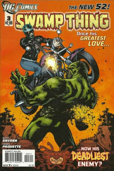 Swamp Thing #3 Comic Books - Covers, Scans, Photos  in Swamp Thing Comic Books - Covers, Scans, Gallery