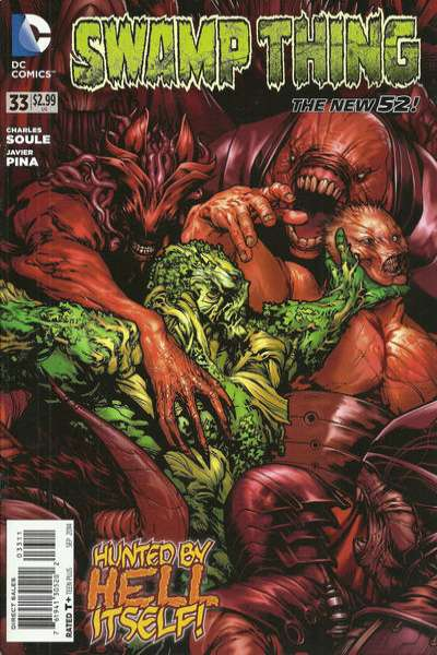 Swamp Thing #33 Comic Books - Covers, Scans, Photos  in Swamp Thing Comic Books - Covers, Scans, Gallery