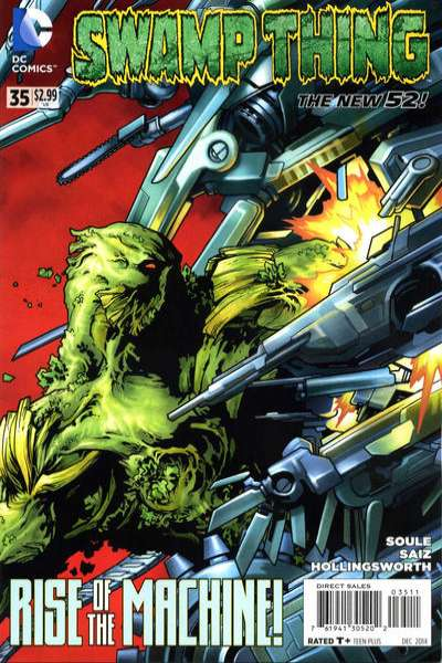 Swamp Thing #35 Comic Books - Covers, Scans, Photos  in Swamp Thing Comic Books - Covers, Scans, Gallery