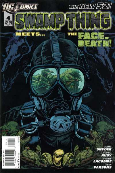 Swamp Thing #4 Comic Books - Covers, Scans, Photos  in Swamp Thing Comic Books - Covers, Scans, Gallery