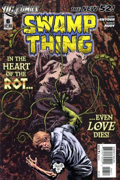 Swamp Thing #6 Comic Books - Covers, Scans, Photos  in Swamp Thing Comic Books - Covers, Scans, Gallery