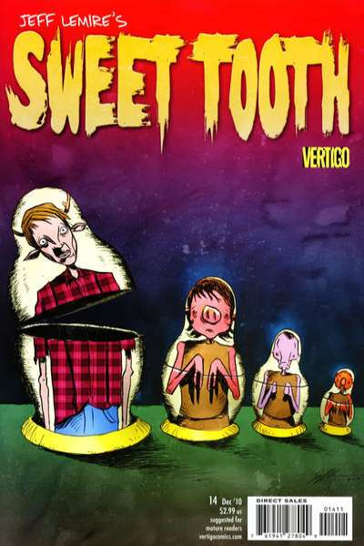 Sweet Tooth #14 Comic Books - Covers, Scans, Photos  in Sweet Tooth Comic Books - Covers, Scans, Gallery
