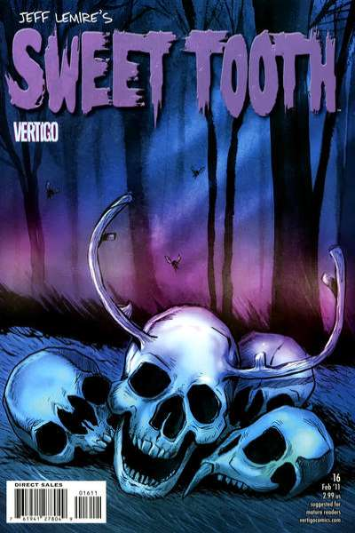 Sweet Tooth #16 Comic Books - Covers, Scans, Photos  in Sweet Tooth Comic Books - Covers, Scans, Gallery