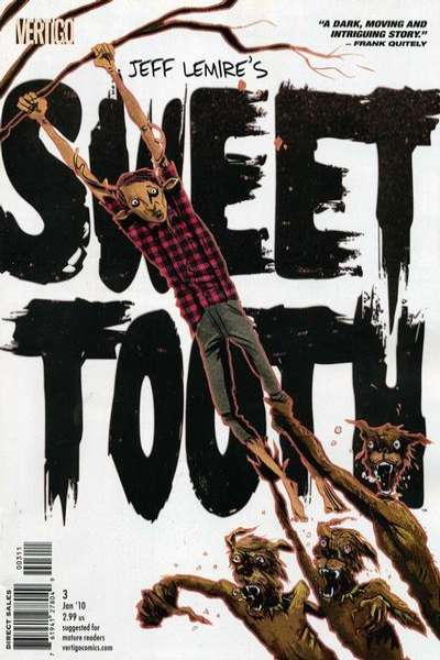 Sweet Tooth #3 Comic Books - Covers, Scans, Photos  in Sweet Tooth Comic Books - Covers, Scans, Gallery