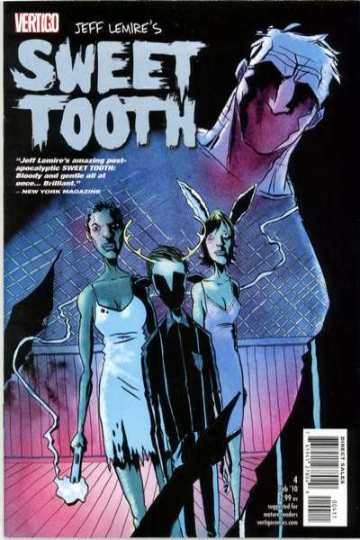 Sweet Tooth #4 Comic Books - Covers, Scans, Photos  in Sweet Tooth Comic Books - Covers, Scans, Gallery