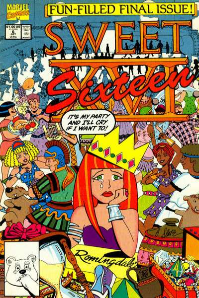 Sweet XVI #6 Comic Books - Covers, Scans, Photos  in Sweet XVI Comic Books - Covers, Scans, Gallery