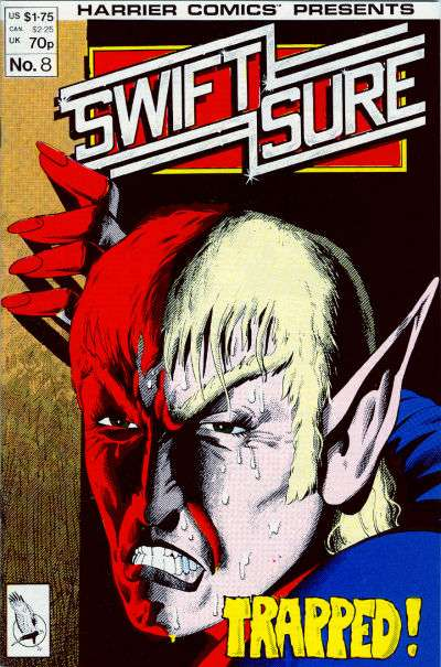 Swiftsure #8 Comic Books - Covers, Scans, Photos  in Swiftsure Comic Books - Covers, Scans, Gallery