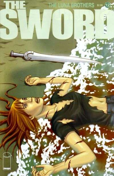 Sword #12 comic books - cover scans photos Sword #12 comic books - covers, picture gallery