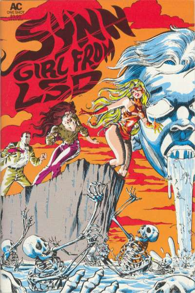 Synn Girl from LSD comic books