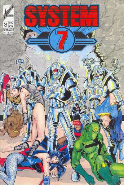 System Seven #3 Comic Books - Covers, Scans, Photos  in System Seven Comic Books - Covers, Scans, Gallery