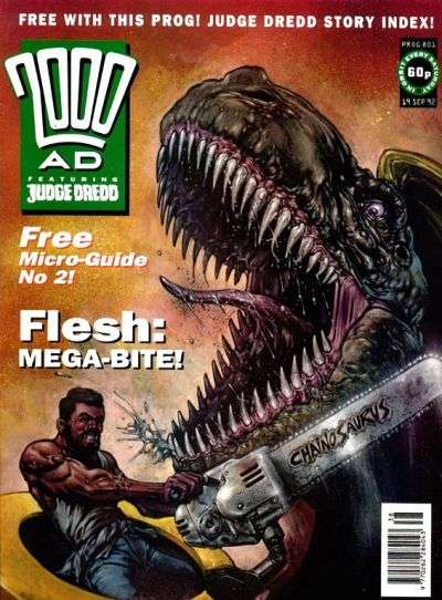 2000 AD #801 comic books for sale