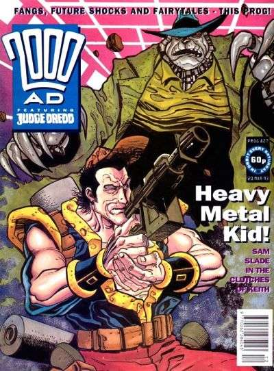 2000 AD #827 comic books for sale