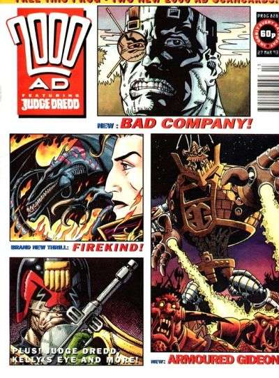 2000 AD #828 comic books for sale