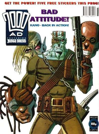 2000 AD #829 comic books for sale