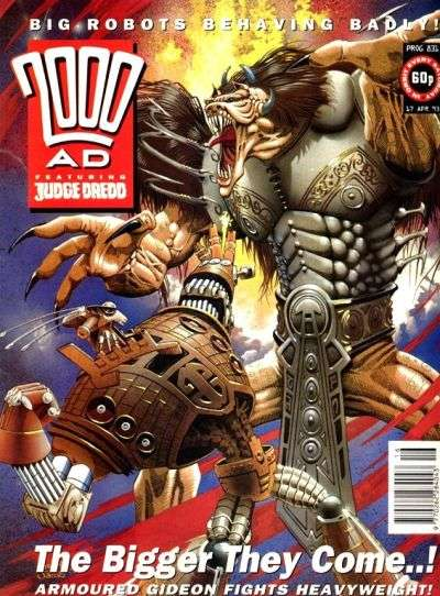2000 AD #831 comic books for sale