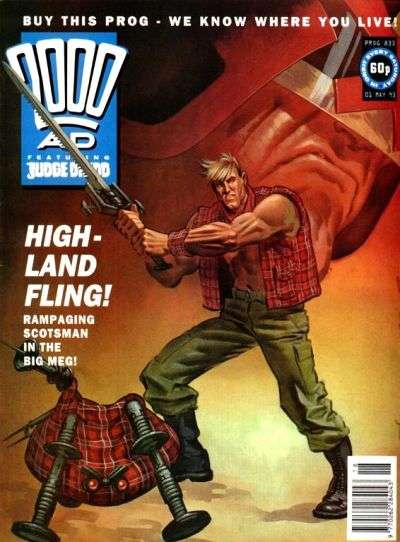 2000 AD #833 comic books for sale
