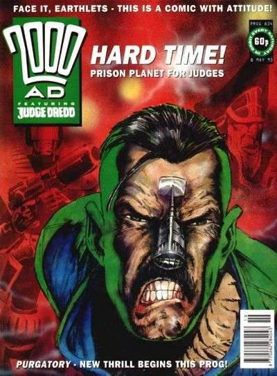 2000 AD #834 comic books for sale