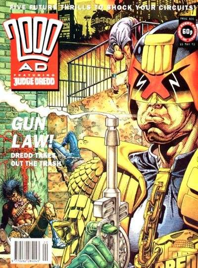 2000 AD #835 comic books for sale
