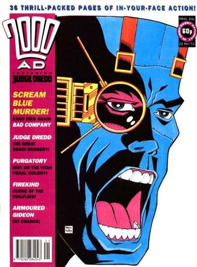 2000 AD #836 comic books for sale