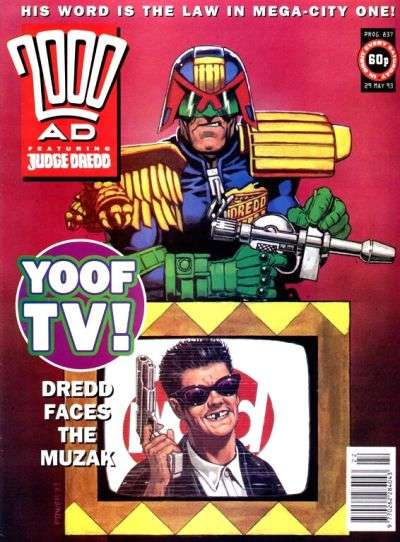2000 AD #837 comic books for sale