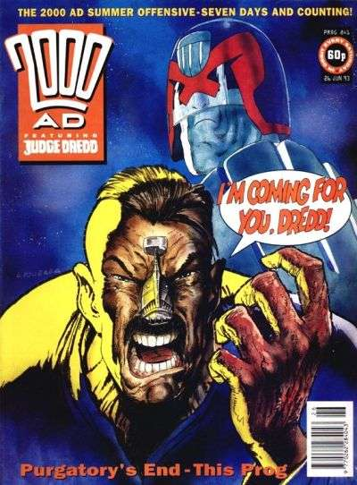 2000 AD #841 comic books for sale