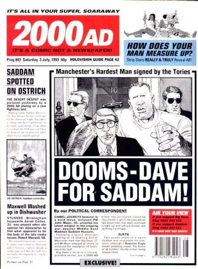 2000 AD #843 comic books for sale