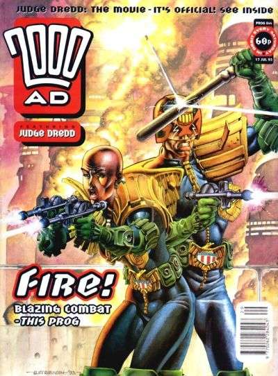 2000 AD #844 comic books for sale