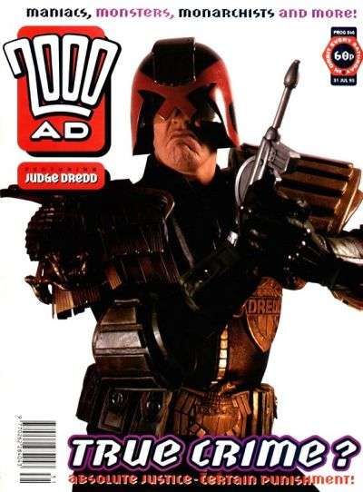 2000 AD #846 comic books for sale