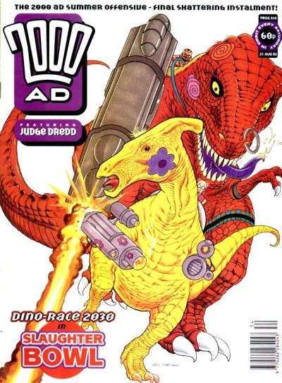 2000 AD #849 comic books for sale