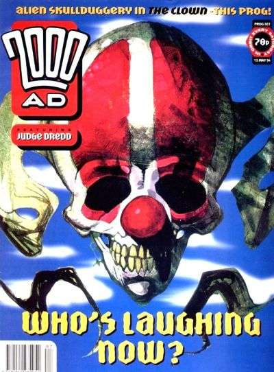 2000 AD #887 comic books for sale