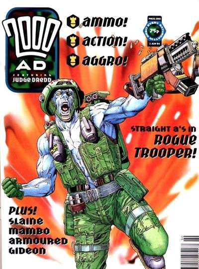 2000 AD #890 comic books for sale