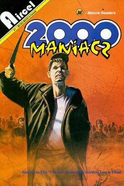 2000 Maniacs comic books