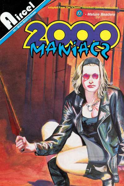 2000 Maniacs #2 comic books - cover scans photos 2000 Maniacs #2 comic books - covers, picture gallery