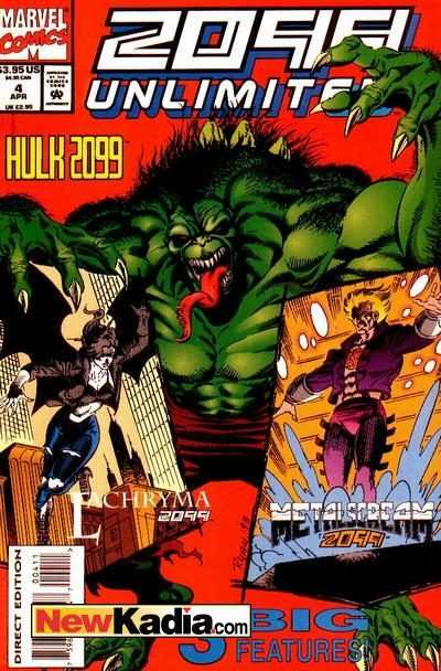 2099 Unlimited #4 Comic Books - Covers, Scans, Photos  in 2099 Unlimited Comic Books - Covers, Scans, Gallery