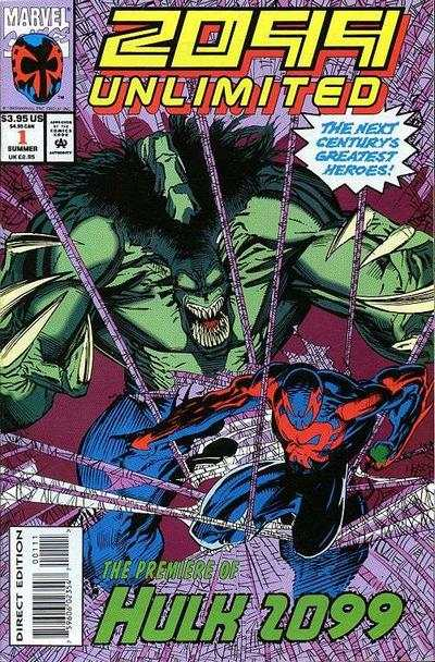2099 Unlimited #1 comic books - cover scans photos 2099 Unlimited #1 comic books - covers, picture gallery