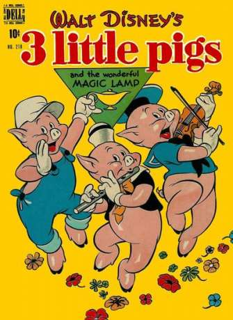 3 Little Pigs #1 comic books for sale