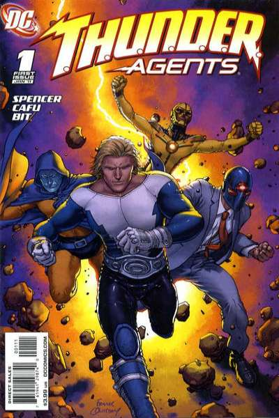 T.H.U.N.D.E.R. Agents comic books