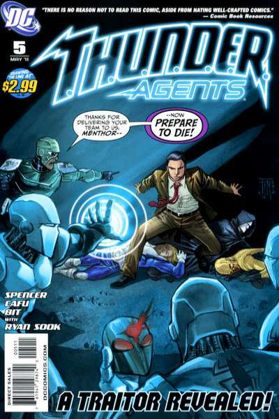 T.H.U.N.D.E.R. Agents #5 comic books for sale