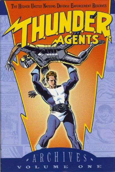 T.H.U.N.D.E.R. Agents Archives - Hardcover Comic Books. T.H.U.N.D.E.R. Agents Archives - Hardcover Comics.