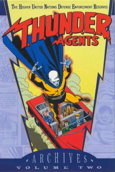T.H.U.N.D.E.R. Agents Archives - Hardcover #2 comic books - cover scans photos T.H.U.N.D.E.R. Agents Archives - Hardcover #2 comic books - covers, picture gallery